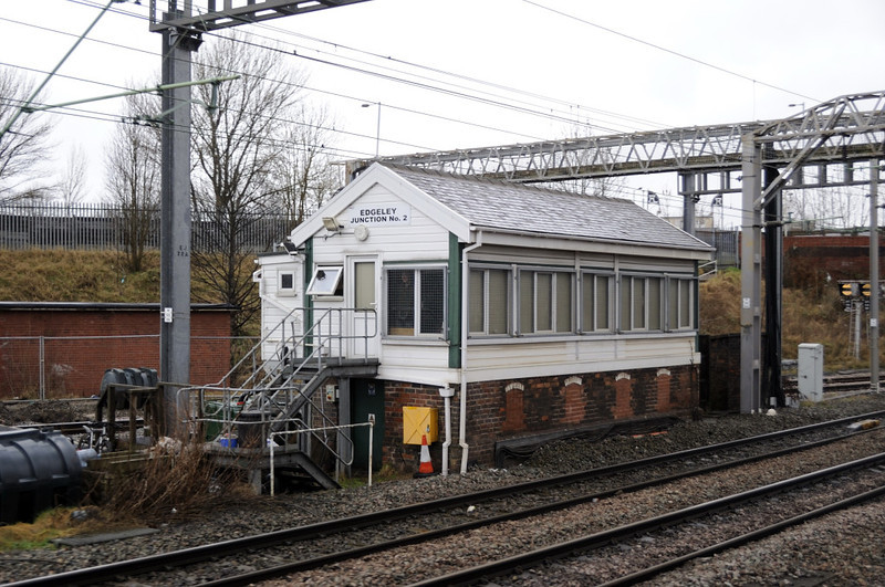 Edgeley Junction No 2 signal box, Sat 26 February 2011 - 1021