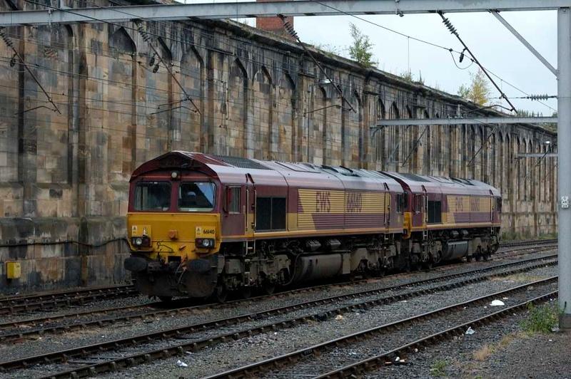 66140 & 66003, Carlisle, Sat 30 July 2005.