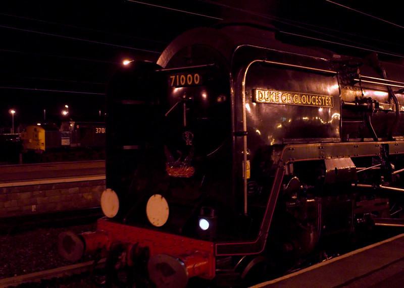 71000 Duke of Gloucester, 1Z52, York, 10 March 2007 - 2220 2