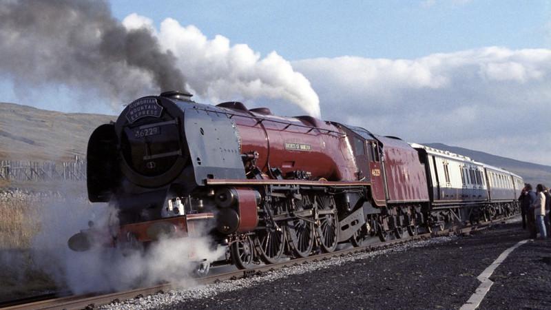 46229 Duchess of Hamilton, Dent, Sat 29 October 1983 7