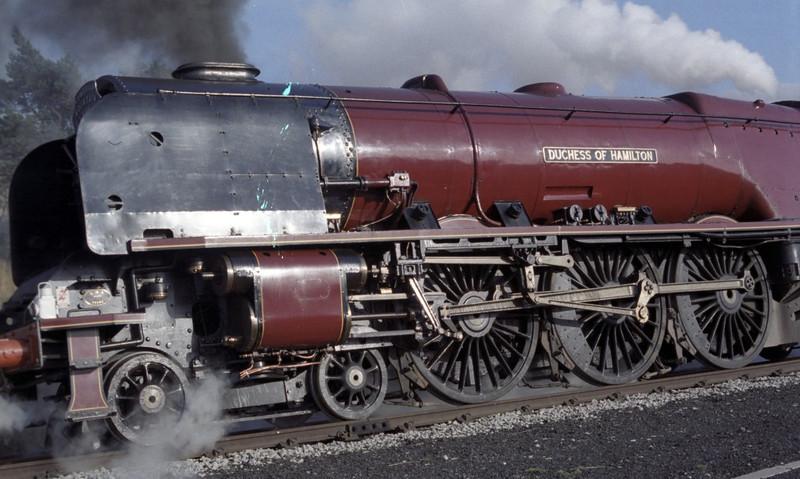 46229 Duchess of Hamilton, Dent, Sat 29 October 1983 4
