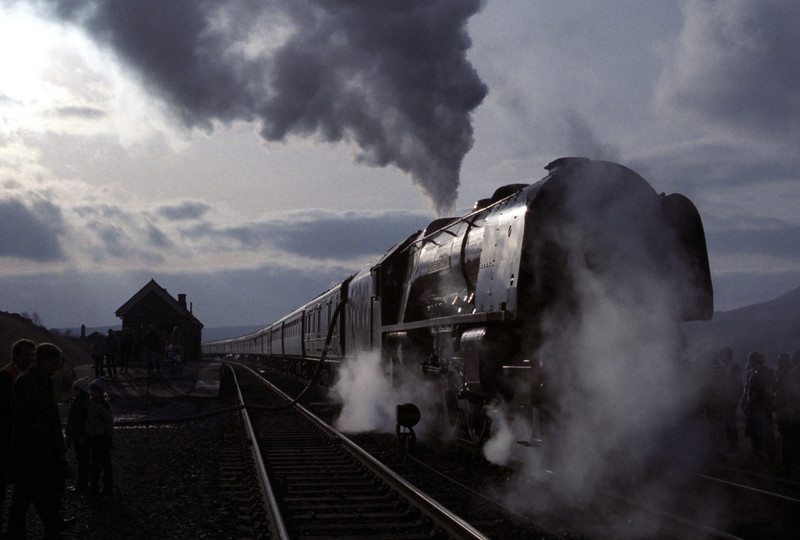 46229 Duchess of Hamilton, Garsdale, Sat 29 October 1983 3