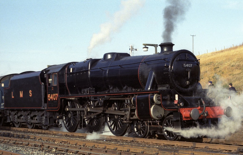 5407, Hellifield, Sat 29 October 1983 4.