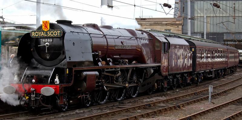 6233 Duchess of Sutherland, 1Z27, Carlisle, 10 October 2009 3 -  1507