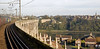 50049 Defiance & 50044 Exeter, 1Z47, crossing the Royal Border Bridge, Sat 19 November 2011 - 1050.