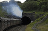 5690 Leander, 1Z25, entering Moorcok tunnel, Wed 25 Aug 2010 - 1715