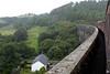 Crossing Cynghordy viaduct, between Sugar Loaf and Llandovery, Mon 29 August 2005 - 1240