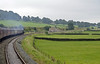 46115 Scots Guardsman, 1Z20, approaching Settle Junction, Sat 8 September 2012 - 0832