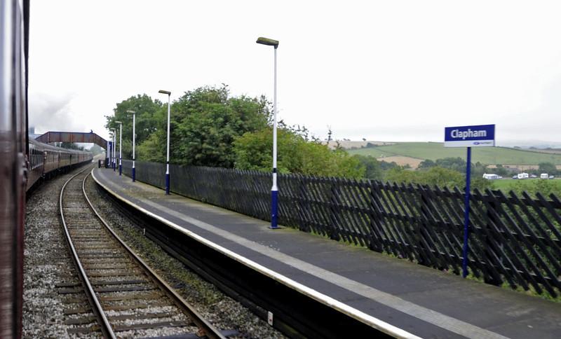46115 Scots Guardsman, 1Z20, passing Clapham, Sat 8 September 2012 - 0820