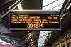 Customer information screen, Crewe, Sat 6 February 2016