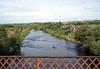 River Clyde, Uddingston, Sat 27 September 2014 - 1322.  Looking north.