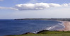 Looking south over Lunan Bay, Fri 18 June 2010 - 1739