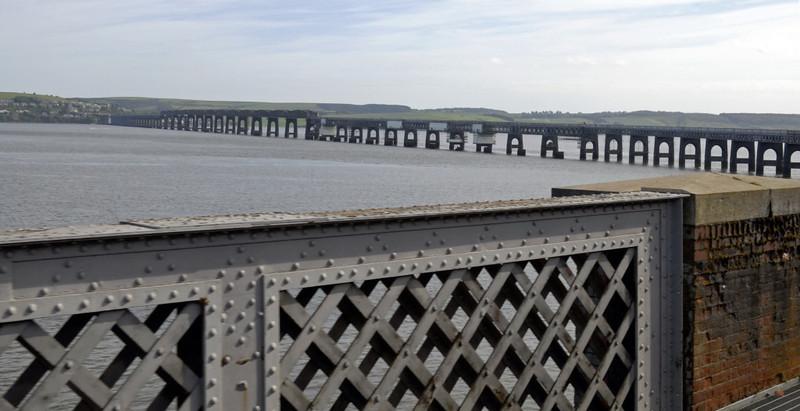 Tay Bridge from Dundee, Fri 18 June 2010 - 1650