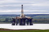 Oil rig, Cromarty Firth, Sun 20 June 2010 - 1127