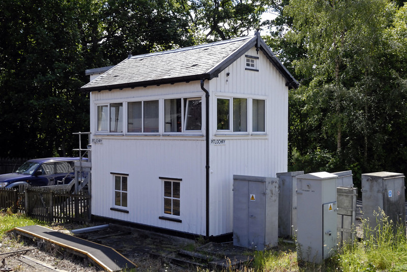 Pitlochry signal box, Mon 21 June 2010 - 1248