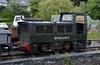 Bryneglwys, Tywyn Wharf, Sat 29 May 2010 - 1226   Former National Coal Board Simplex 100hp diesel hydraulic (101T023 / 1985).