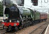 60103 Flying Scotsman, 5Z64, Carlisle, Sun 17 July 2016 1 - 1614.  60103 propels support coach 99953 to Petteril Bridge Junction to turn on the Upperby triangle and take water.