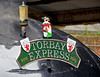 The Torbay Express headboard, Taunton, Sun 2 September 2012.