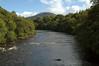 River Spean, Spean Bridge, 25 August 2007   Looking east from Spean Viaduct.
