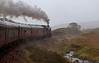61994 The Great Marquess, 1Z28, climbing through the rain to Corrour, 27 September 2009 - 1024
