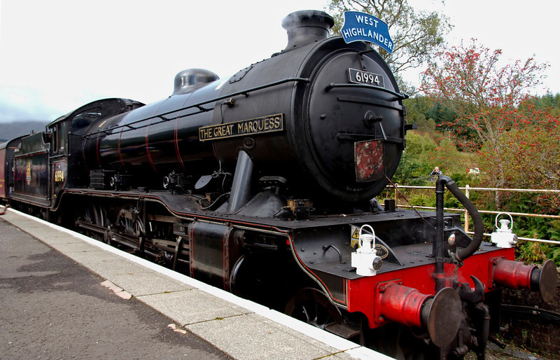 61994 The Great Marquess, 1Z24, Crianlarich, 26 September 2009 2 - 0929