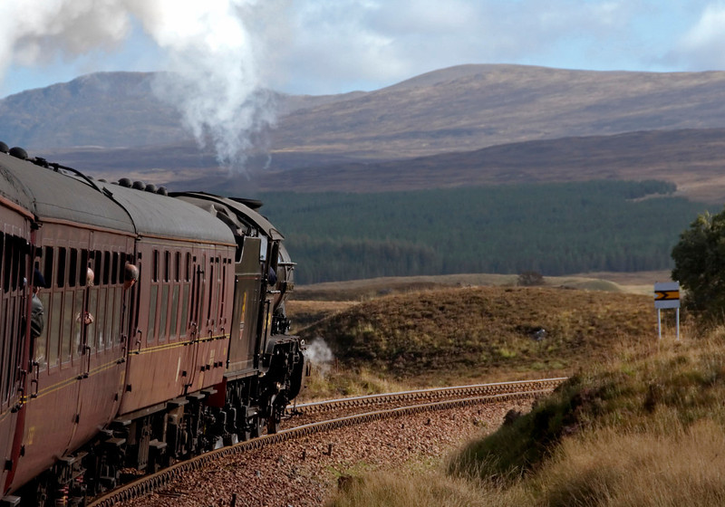 61994 The Great Marquess, 1Z24, climbing to Rannoch, 26 September 2009 - 1129