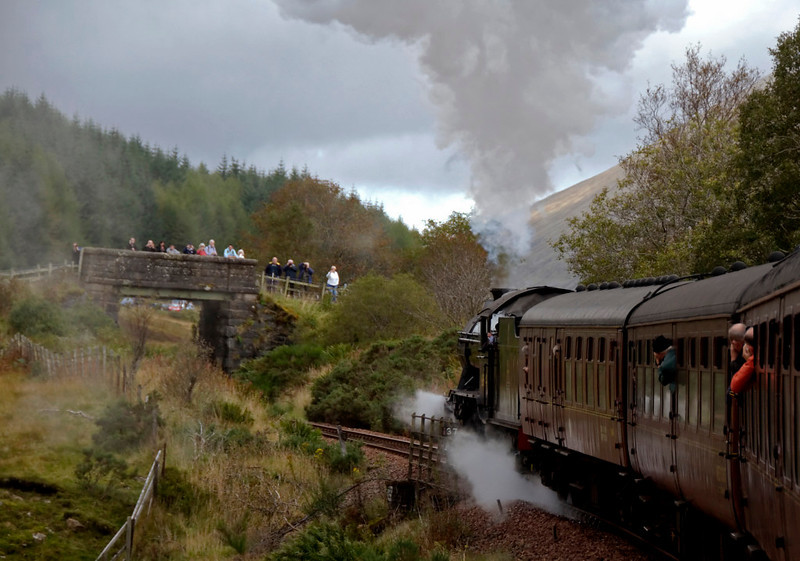 61994 The Great Marquess, 1Z24, approaching County March summit, 26 September 2009 - 1100