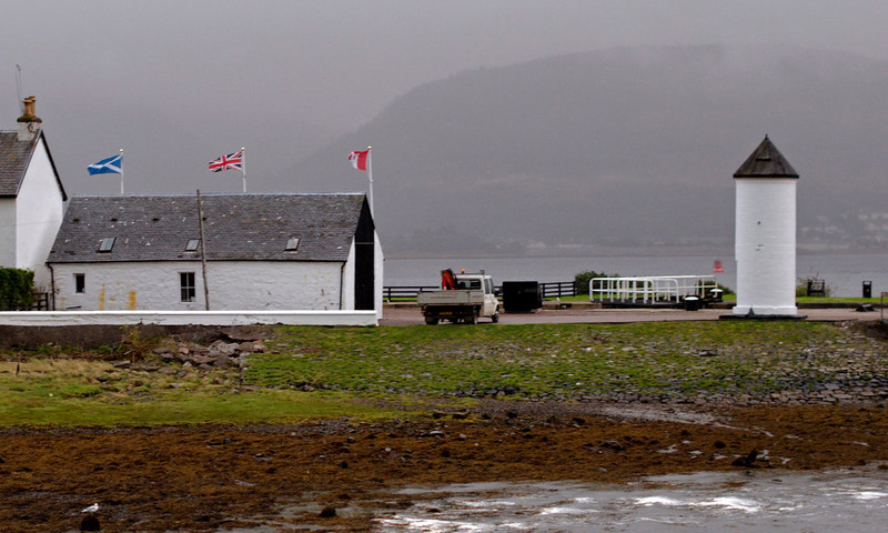 Caledonian Canal entrance, Corpach, 26 September 2009 - 1835