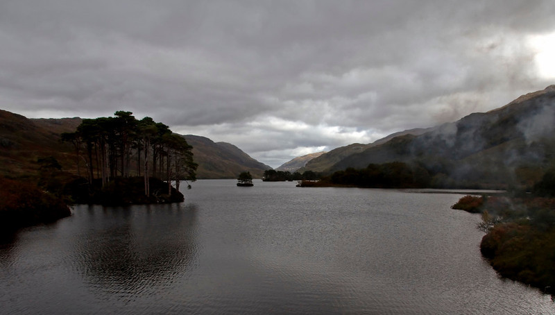 Loch Eilt, looking east, 26 September 2009 - 1419