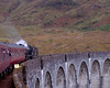 62005 Lord of the Isles, 1Z26, crossing Glenfinnan viaduct, 26 September 2009 - 1814