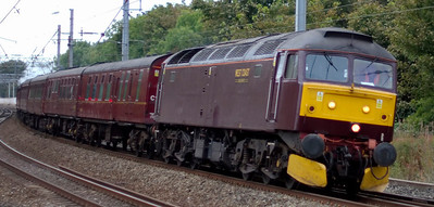 West Highlander, 25 September 2009: Preston - Glasgow
