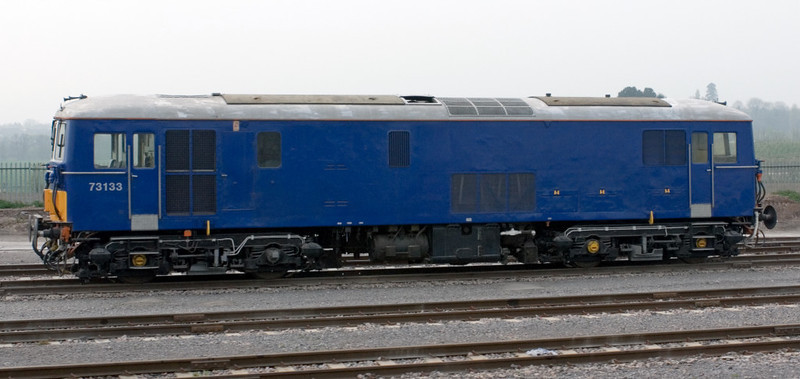 73133, Taunton, 14 April 2007 - 1150.  This electro-diesel is privately preserved.