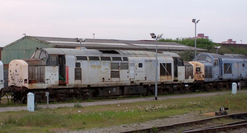 37696 & 37077, Bristol Barton Hill, 14 April 2007 - 1935