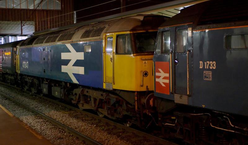 47853 Rail Express & 47847, 1Z42, Preston, 15 April 2007 2 - 0004.