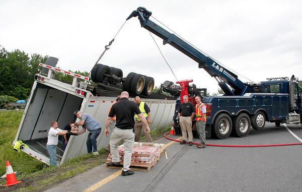91 Truck accident