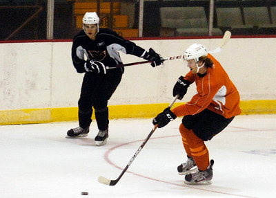 Sean Couturier during practice on the first day of practice for the Adirondack Phantoms at the Glens Falls Civic Center. Photo Erica Miller 10/9/12 spt_Couturier1_Wed