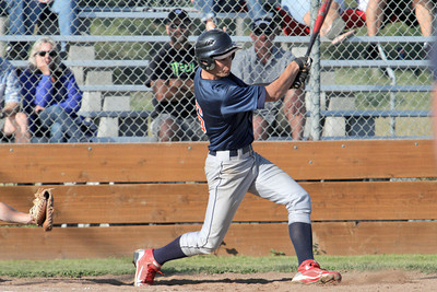Josh Jackson/The Times-Standard  Southern Humboldt's #16 hits for a triple during Saturday's game in Fortuna