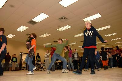 """Dancing to """"Cotten-eye Joe"""" photo by Tony Bucca"""
