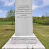 A single grave marker