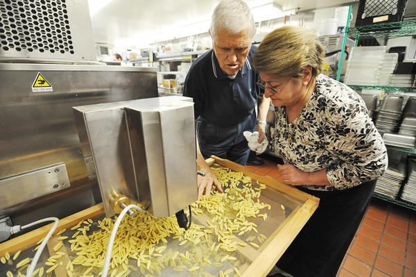 Mazzeo's pasta maker