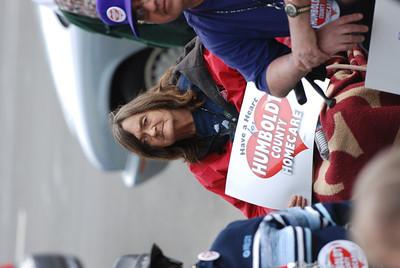 Car Worker Demonstration