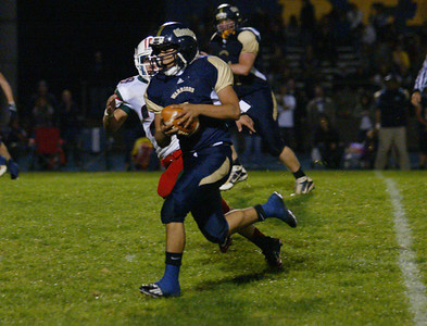 DN QB#1 with a long run to set up a TD