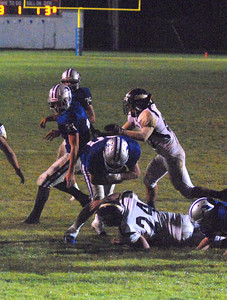 JosŽ Quezada/For the Times-Standard  No. ? Fortuna dive over the goal line to make it 35-0 1:27 left in the third quarter.
