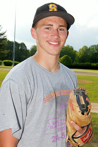 Athlete of the Week Dylan Anderson, Saratoga Central Catholic Saints Varsity Baseball. Photo Erica Miller 6/5/11 AOW_DylanAnderson