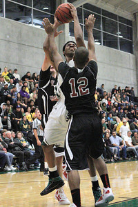 Josh Jackson/The Times-Standard  during Friday's game in Arcata.
