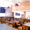 Students work in the Brattleboro Union High School library Tuesday. (Jason R. Henske/Reformer)