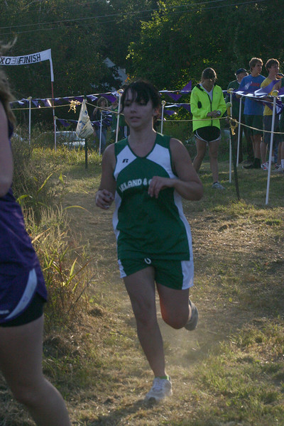 Leland & Gray cross country girls at Brattleboro meet