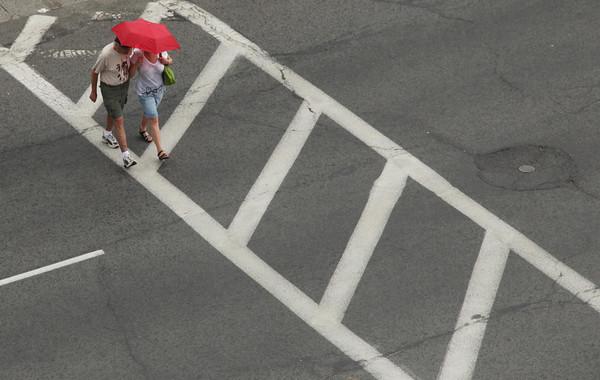 Aerial Rain Shot