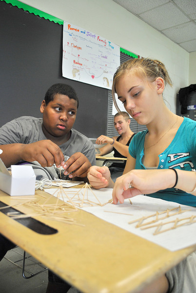 Building (toothpick) Bridges at Taconic