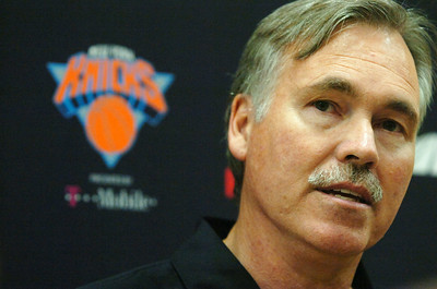 Head Coach of the New York Knicks Mike D'Antoni. Photo Erica Miller 9/29/09 spt_DAntoni_Wed